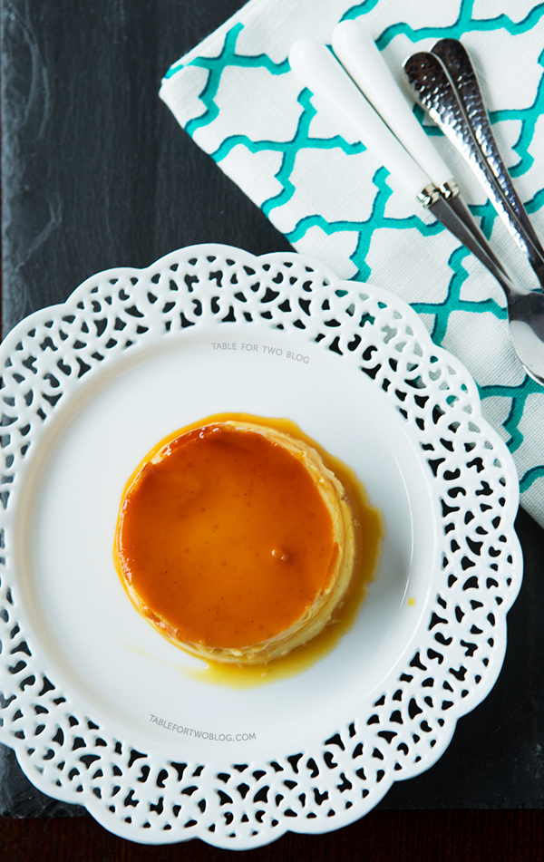 Key Lime Cheesecake Flan | tablefortwoblog.com