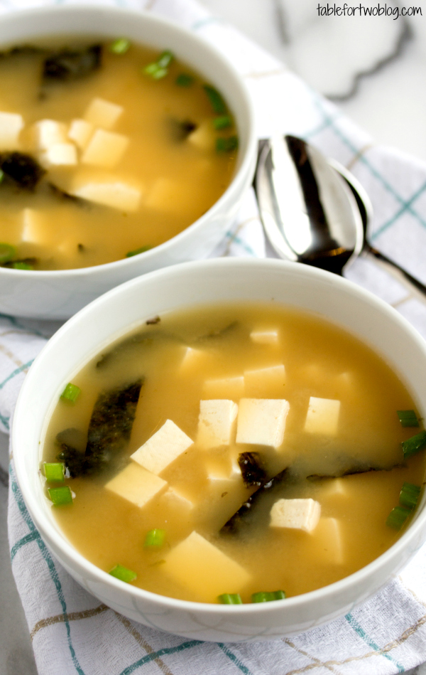 Easy 15-Minute Miso Soup - Table for Two