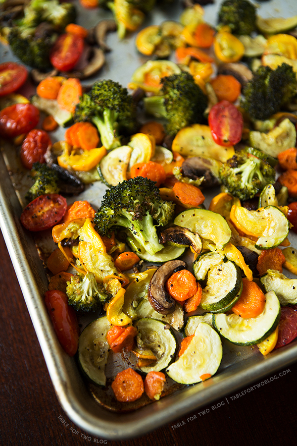 Roasted vegetables table for two by julie wampler how to roast vegetables tablefortwoblog forumfinder Images