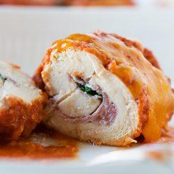Chicken Roll-Ups   tablefortwoblog.com