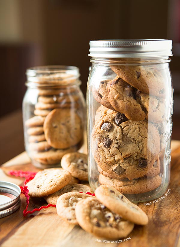 how to make mason jar cookie gifts