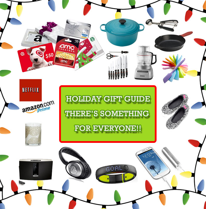 2013 Holiday Gift Guide from tablefortwoblog.com, there's something for everyone on your list!