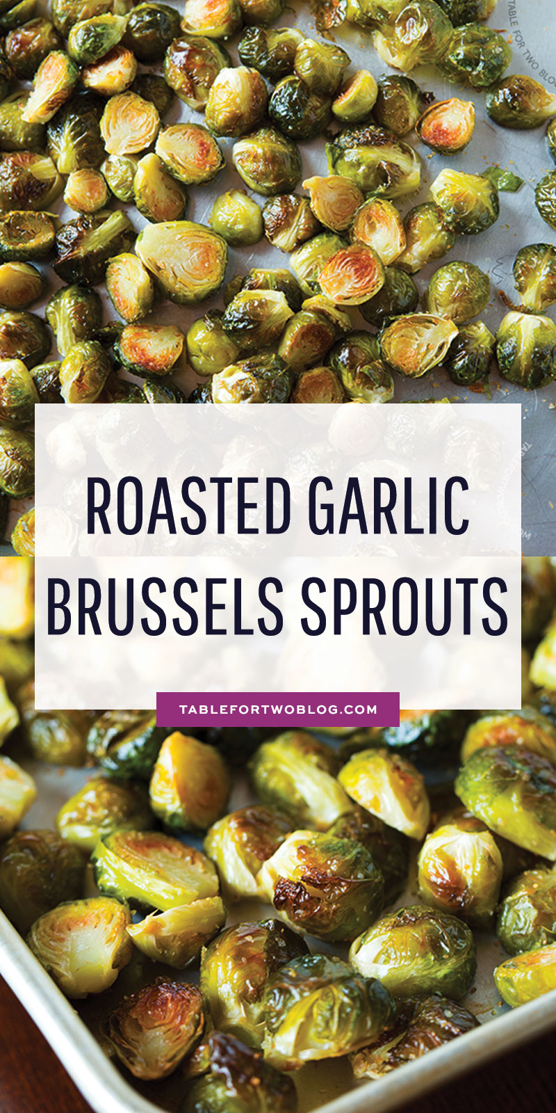 Roasted garlic brussels sprouts are the best, and quite frankly, only way to eat Brussels sprouts. If you make them this way, I promise you that you will be a Brussels sprouts LOVER! #roastedvegetable #roastedbrusselssprouts #brusselssprouts