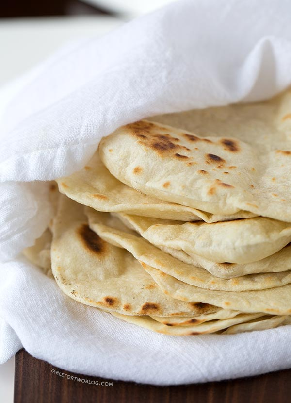 Homemade Flour Tortillas Easy Homemade Tortilla Recipe