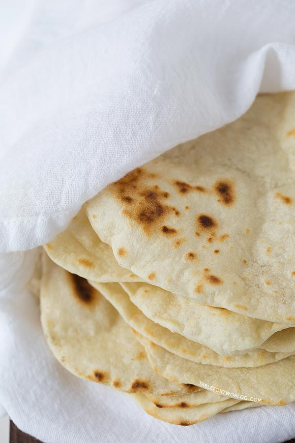 Homemade Flour Tortillas are way better than store-bought and so easy ...