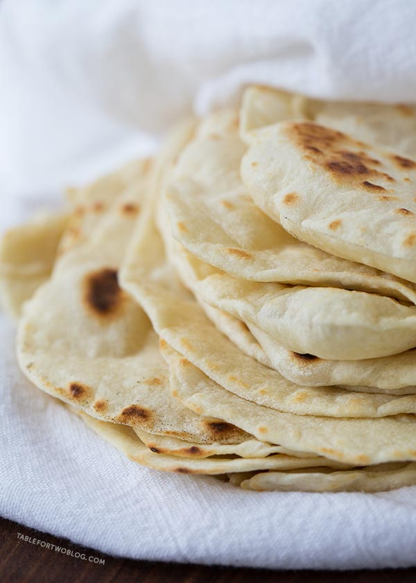 Homemade Flour Tortillas Easy Homemade Tortilla Recipe