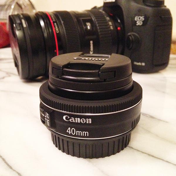 Canon 40mm STM Pancake Lens and Eye-Fi SD Card Review