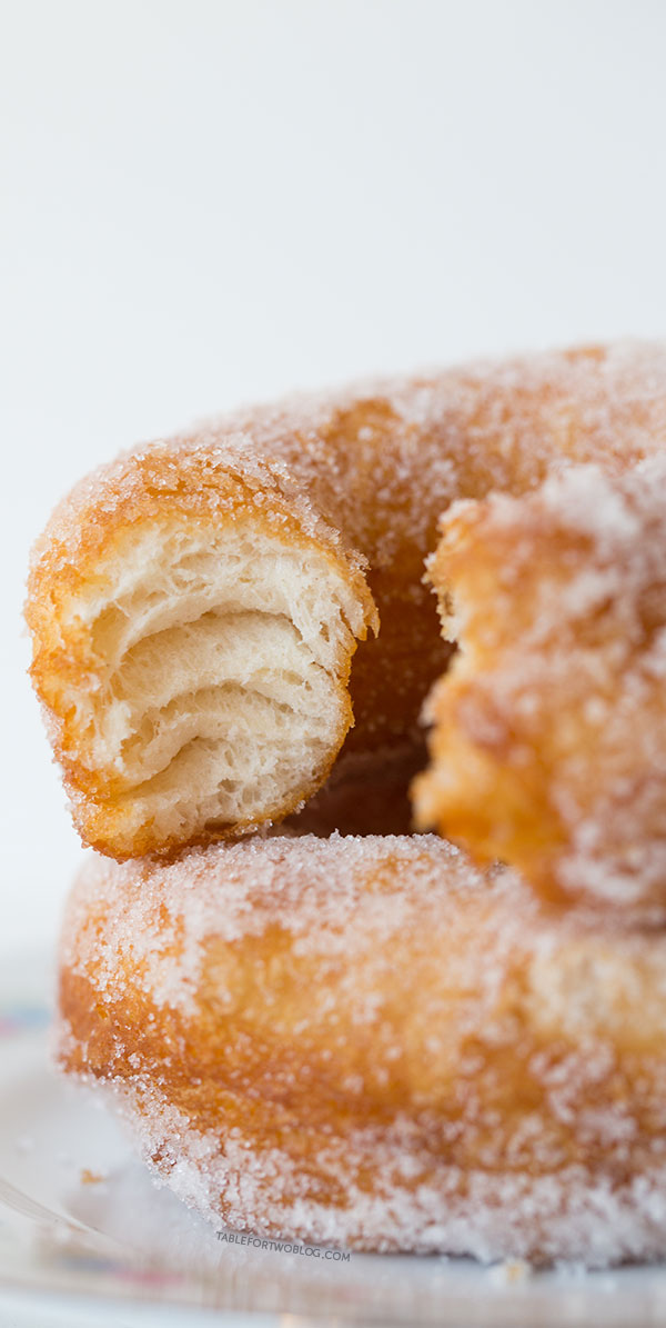 how to make fried sugar donuts
