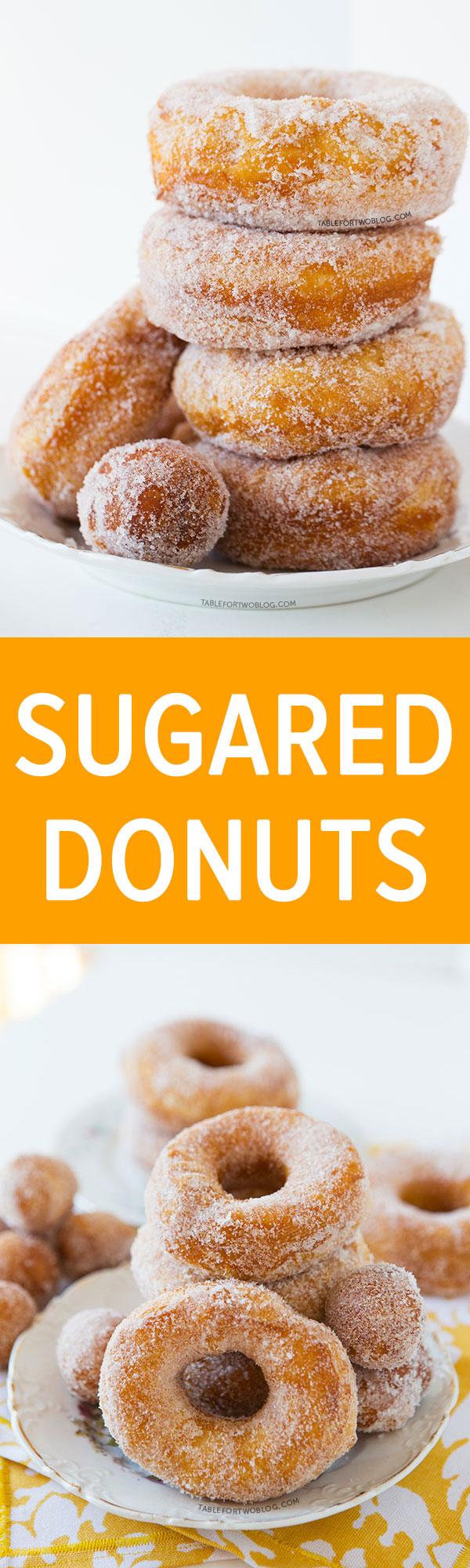 Nothing better than a classic fried sugared donut! Covered in sugar, this donut is special because it takes only three ingredients to make this. You won't believe what the one major ingredient is!