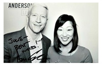 Anderson Cooper Live – Blogger of the Day