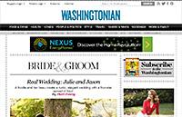 Washingtonian Magazine – Bride & Groom