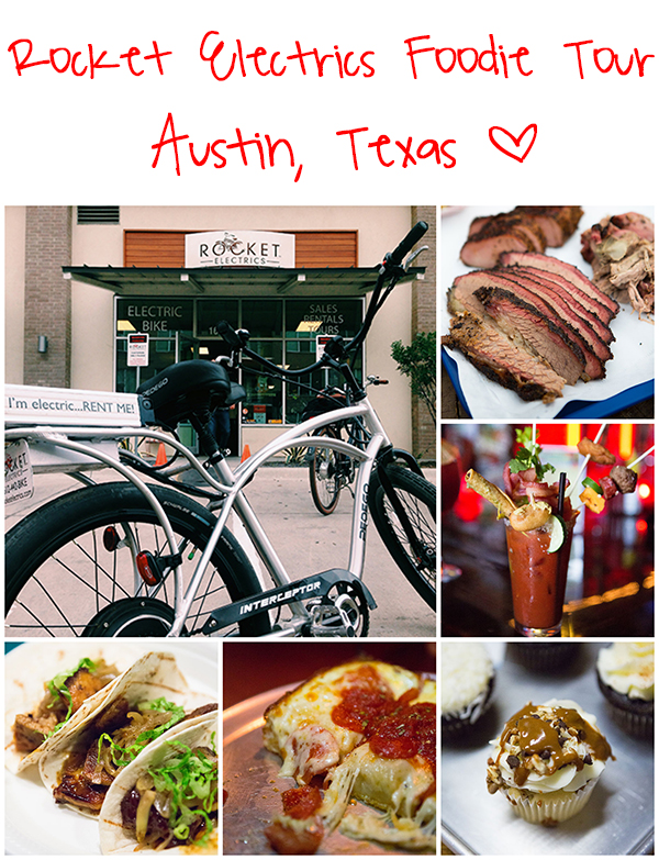 Visiting Austin? Get on a Rocket Electrics Foodie Tour to eat your way around town like the locals do! More on tablefortwoblog.com