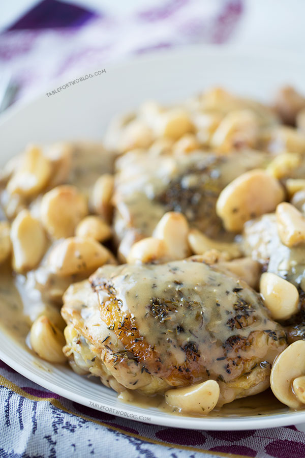 Chicken with 40 Cloves of Garlic - Table for Two®
