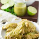 It's so easy to make your own salsa verde at home and turn it into an awesome slow cooker chicken dish!