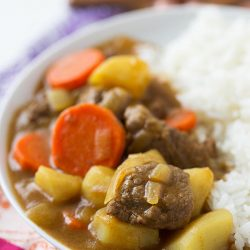This is one easy dish that is even better as leftovers! Japanese curry is pure comfort food and you'll want a batch of this in the fridge for when the craving hits!
