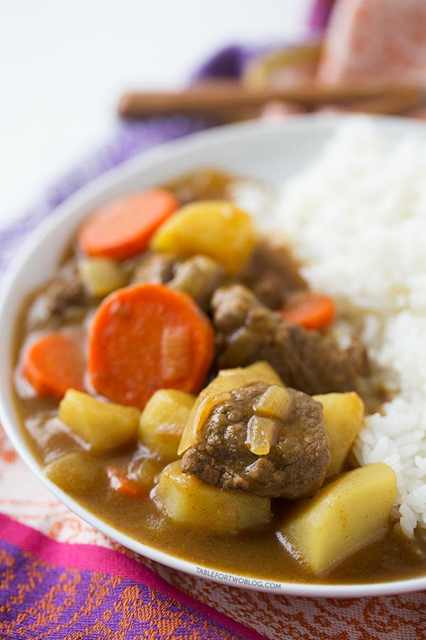 Japanese curry table for two this is one easy dish that is even better as leftovers japanese curry is pure forumfinder Image collections
