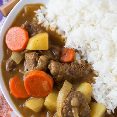 Japanese Curry Table For Two By Julie Wampler