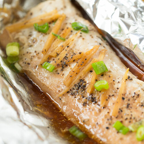 Baked fish in foil asian dating