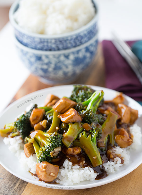 Easy 20 minute teriyaki chicken and broccoli table for two this easy 20 minute teriyaki chicken and broccoli will soon be a favorite in your forumfinder Gallery