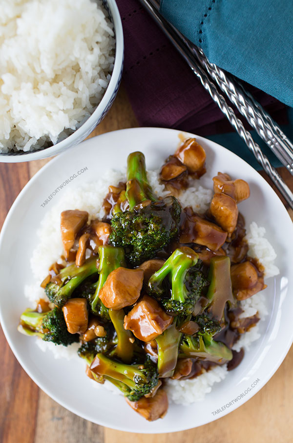 Easy 20 minute teriyaki chicken and broccoli table for two by this easy 20 minute teriyaki chicken and broccoli will soon be a favorite in your forumfinder Images