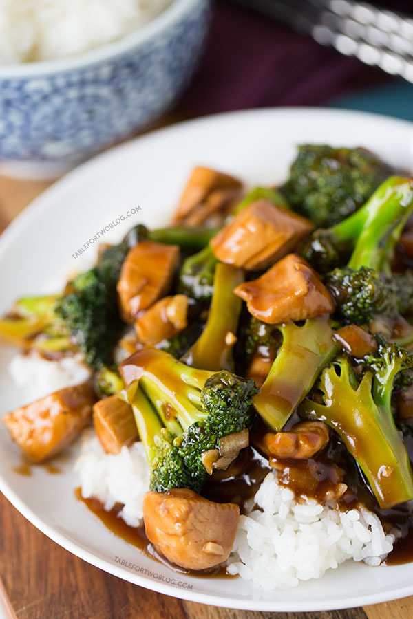 Easy 20 minute teriyaki chicken and broccoli table for two this easy 20 minute teriyaki chicken and broccoli will soon be a favorite in your forumfinder Image collections