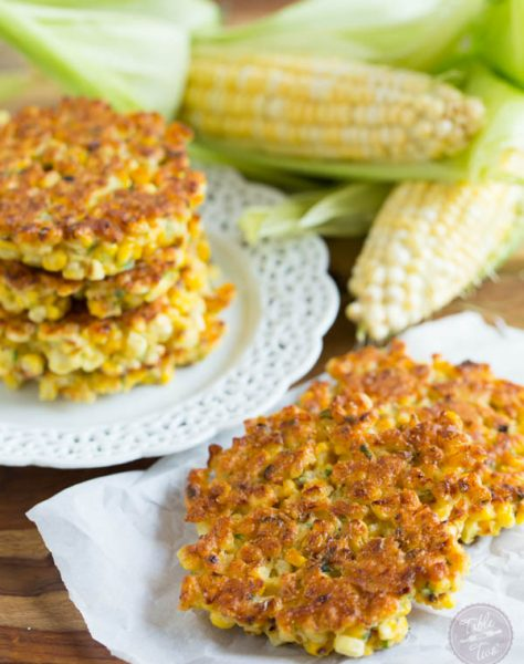 Grilled corn fritters are a great way to use your grilled corn! These little cakes are so easy to put together!