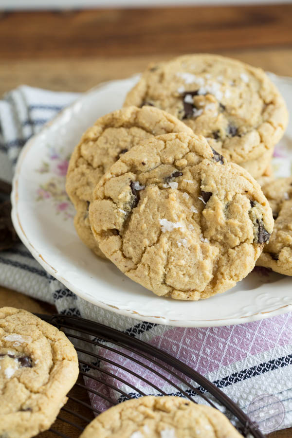 Salted Chocolate Chunk Cookies are for all you sweet and salty lovers ...