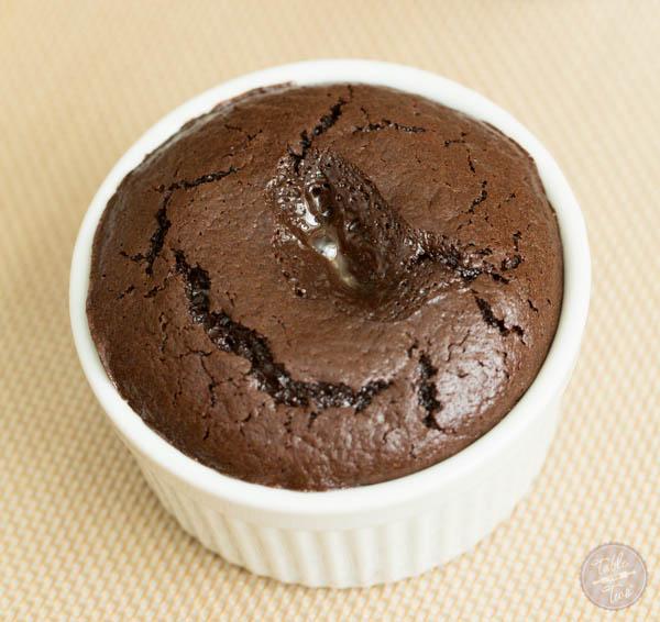 Salted Butter Caramel Lava Cake