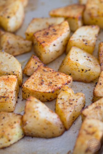 Our favorite way to roast potatoes with the easiest seasonings!