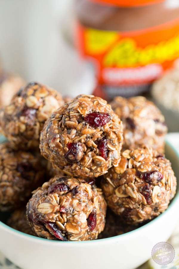 No-bake chocolate peanut butter oat snack bites are the perfect on-the-go snack for busy lives!
