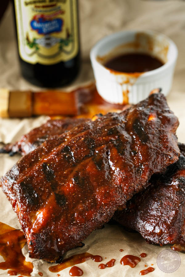 Beer Bq Baby Back Ribs For Two Table For Two 174 By Julie Wampler