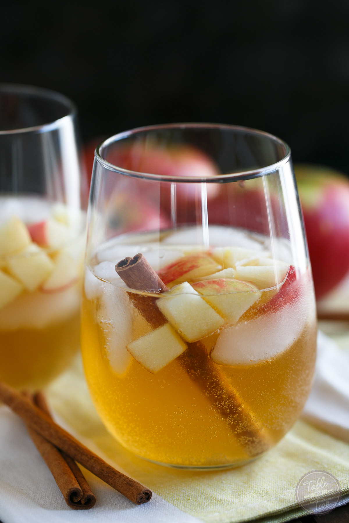 Your new favorite Fall cocktail! This cocktail has all the aromas of Fall and the cinnamon pear simple syrup gives just the right amount of sweetness! The perfect cocktail for those Fall parties!