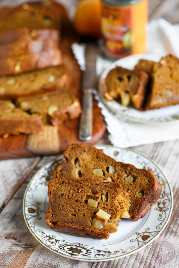 Pumpkin apple bread is the epitome of Fall flavors. Pumpkin, apples, and cinnamon flavors are all in one deliciously moist and gluten-free loaf! Eat one loaf now, freeze one for later!