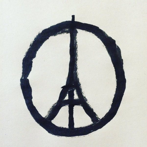 Peace for Paris by Jean Jullien