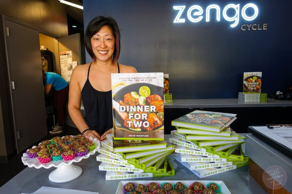 Zengo Cycle & Dinner for Two Cookbook Signing