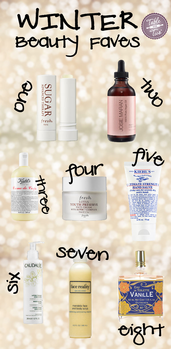 Winter Beauty Faves that will save your skin this season!