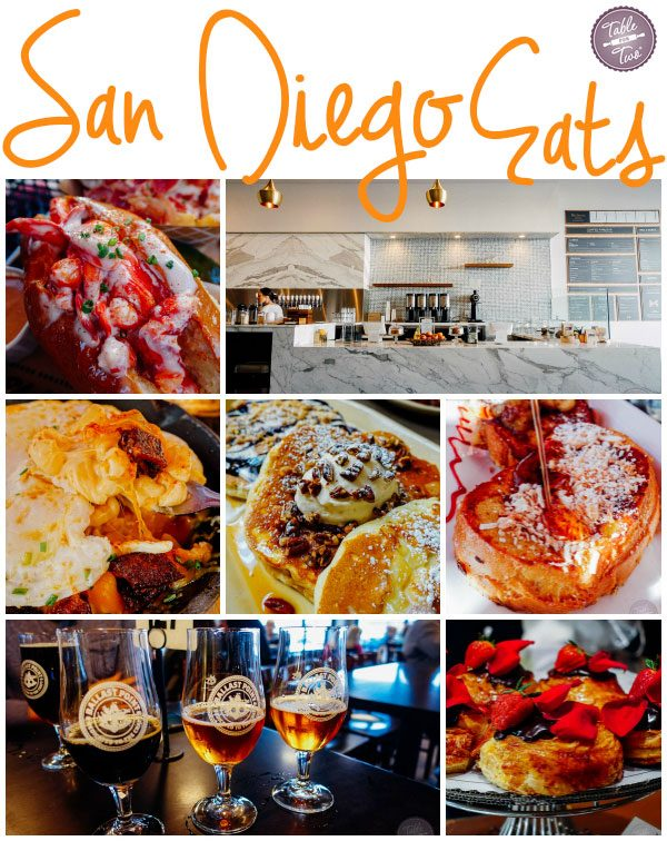 Everywhere you should eat if you're ever in San Diego, California!!