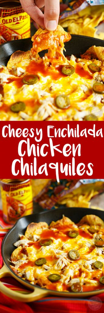 Cheesy, easy, spicy, and perfect for the big game! You might need to make an extra skillet of these! #sponsored #oldelpaso
