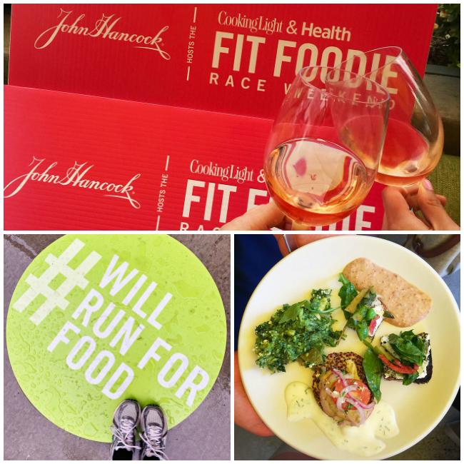 John Hancock Hosts the Cooking Light & Health Fit Foodie Race Weekend