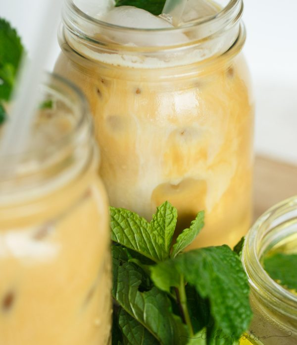 If you love coffee, you will love adding mint to your morning or afternoon cup! This iced mint latte is so refreshing and you'll wonder why you never added mint to your coffee in the first place!