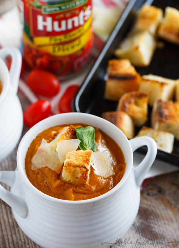 fire-roasted tomato, pumpkin, and corn soup that uses @huntschef fire ...