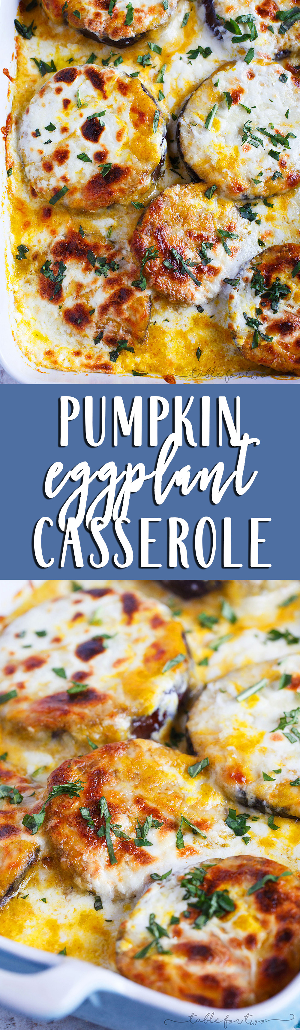 Pumpkin eggplant casserole with burrata is basically the casserole that says Fall and comfort food. You seriously need to get on board and make this ASAP!