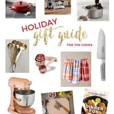 2016 Holiday Gift Guide for the Cooks from Table for Two