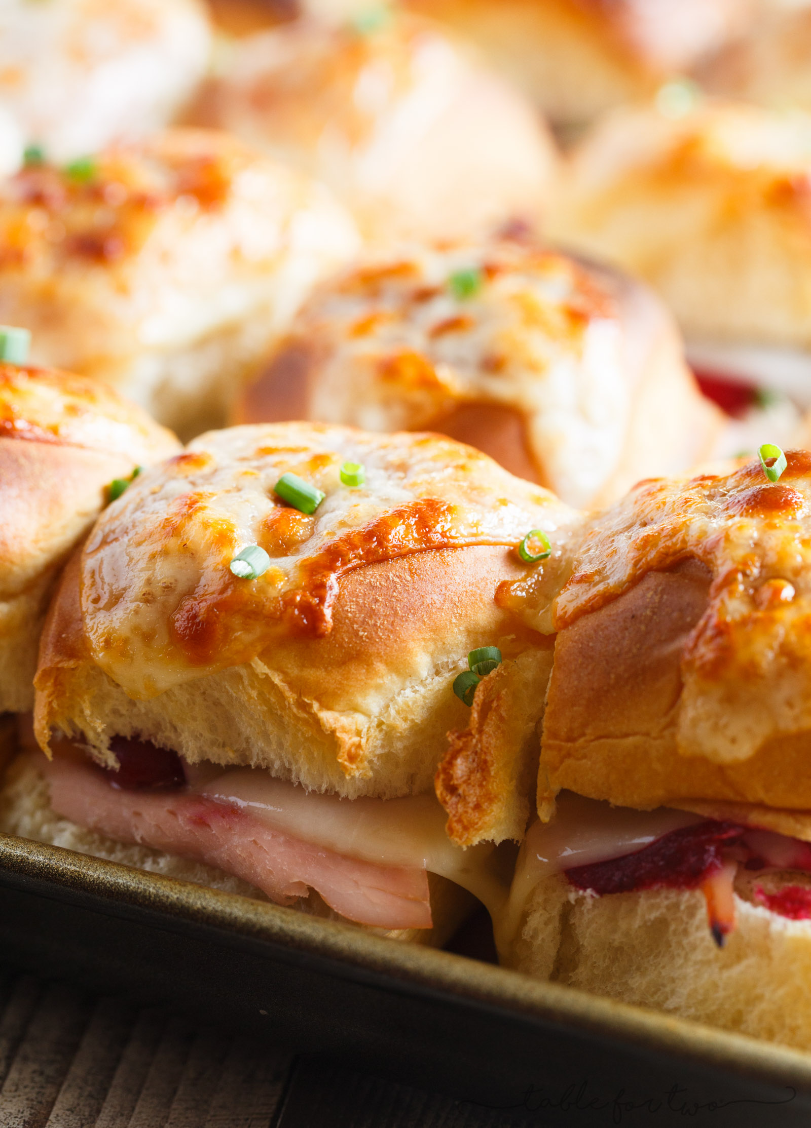 Give Thanksgiving leftovers life again by making these Leftover Thanksgiving Turkey Sliders! An easy and delicious way to use up your Thanksgiving turkey & leftovers!