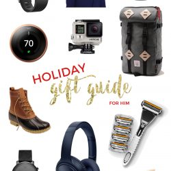 2016 Holiday Gift Guide For Him from Table for Two