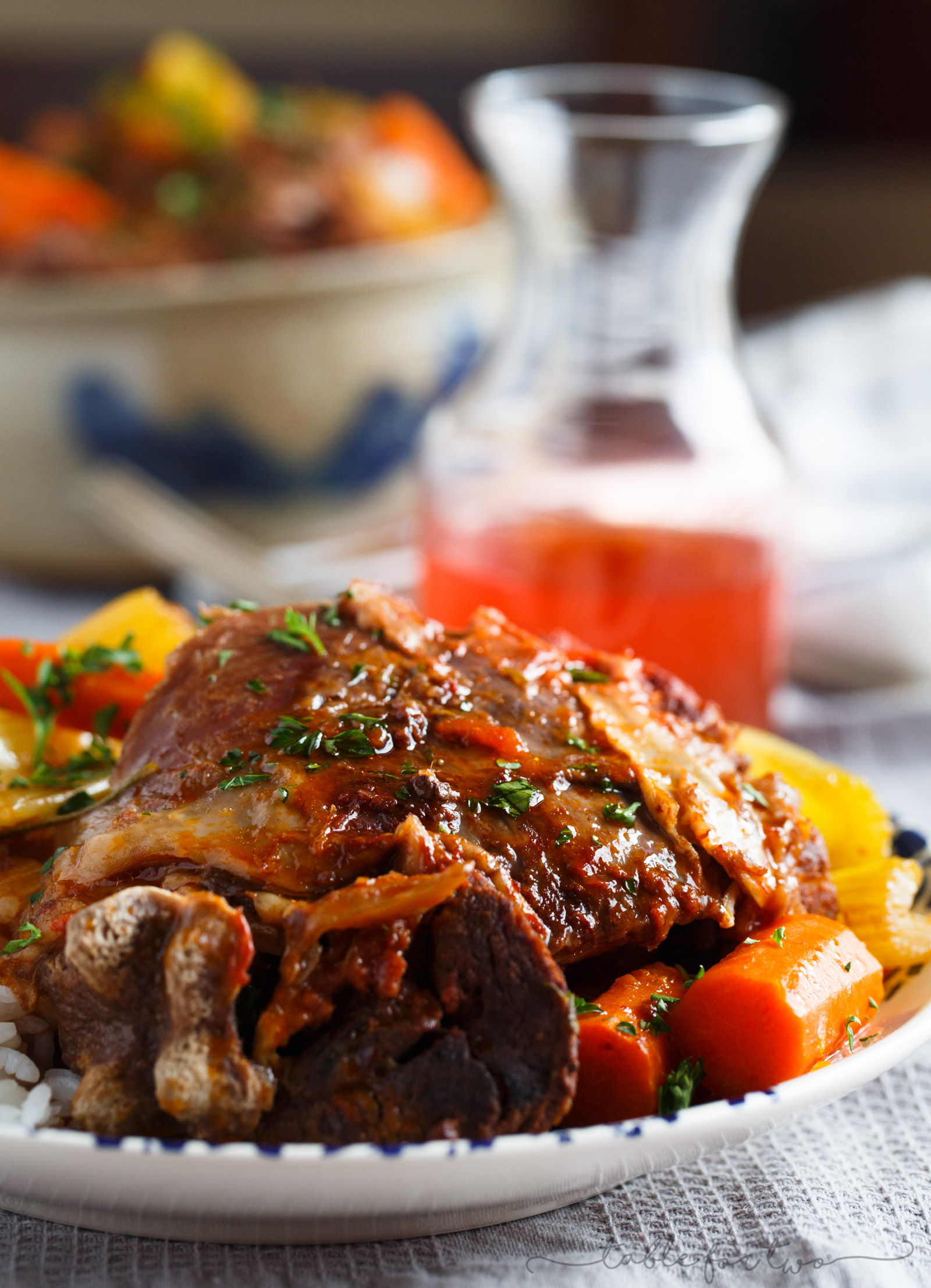 Slow cooker osso buco is unbelievably tender and full of flavor. There is nothing intimidating about making this restaurant favorite at home!