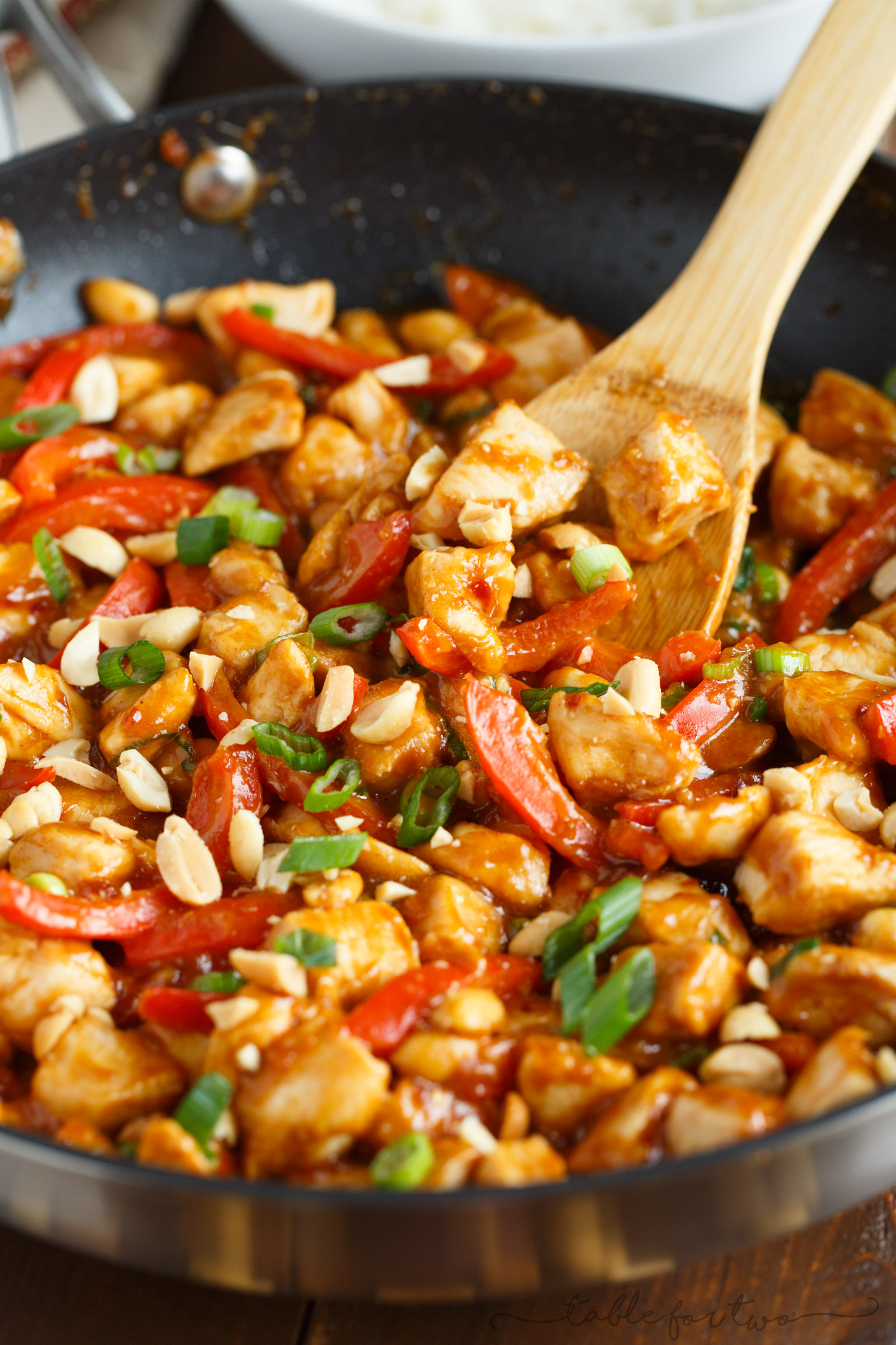 Spicy Peanut Chicken Quick And Easy Chicken Dinner With