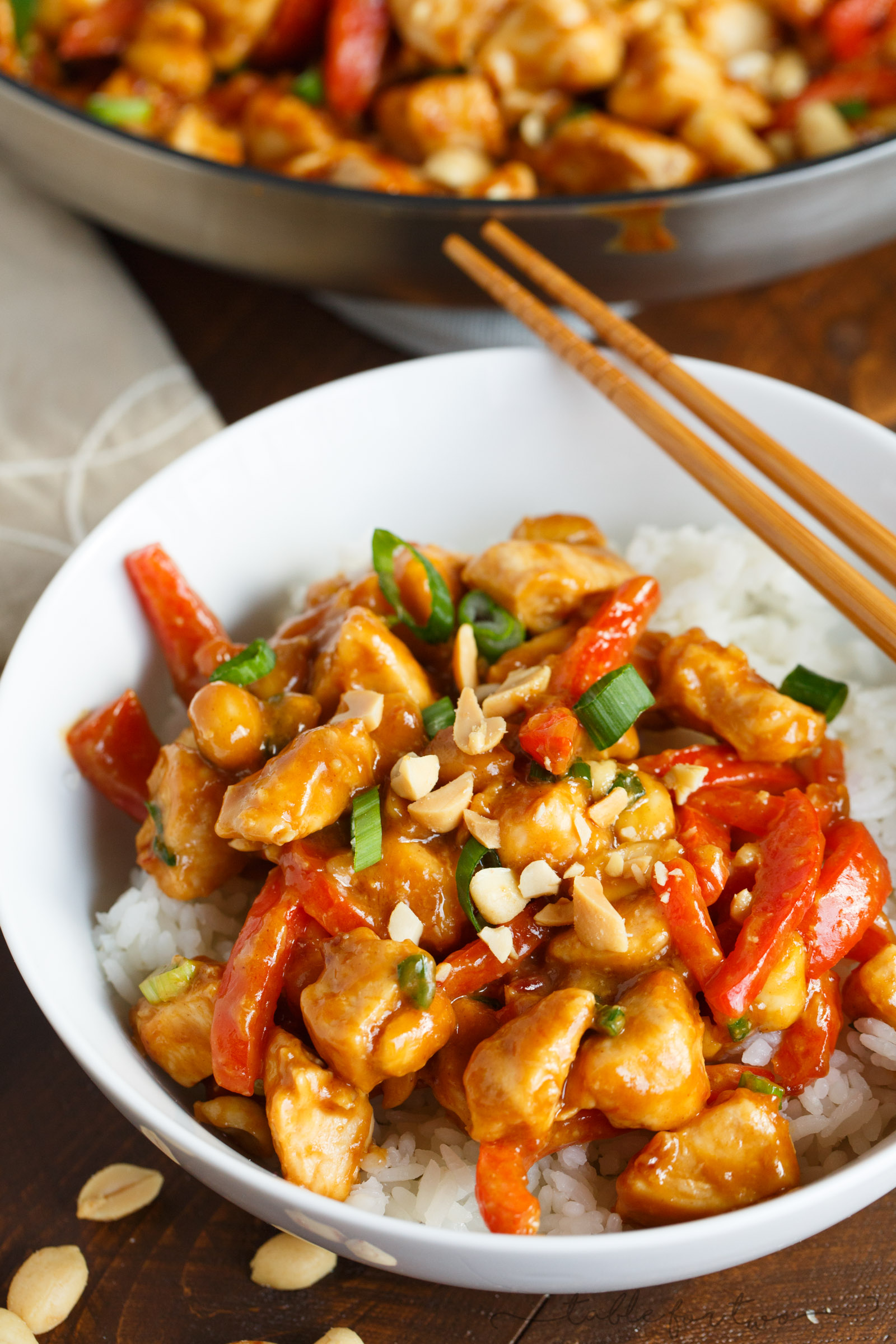 Spicy Peanut Chicken - Quick and Easy Chicken Dinner with ...