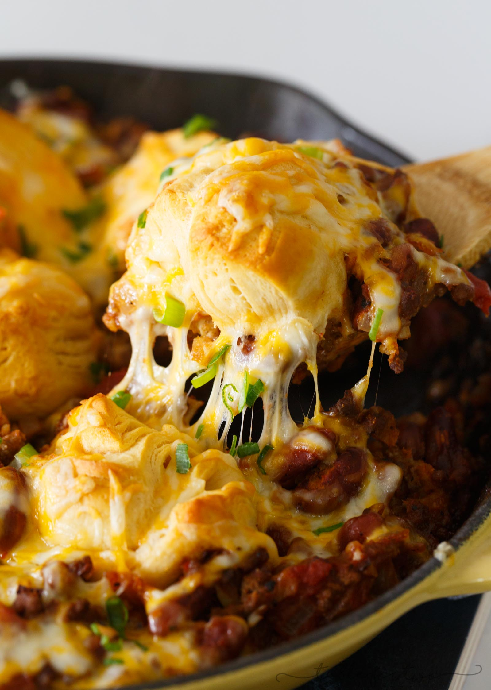 Frito Pie Chili Biscuit Skillet Skillet Chili With