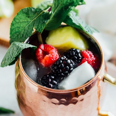 It's like being on an island in paradise when you've got yourself sipping on this tropical Moscow mule! The fruitier twist on the classic Moscow mule!